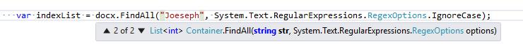FindAll() method