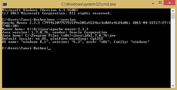 Open a command window