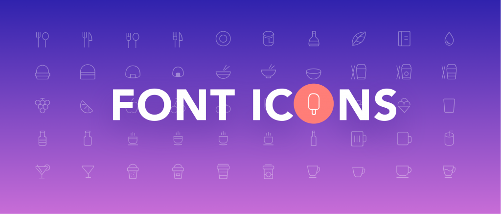 Flexible Icons -Icon Fonts