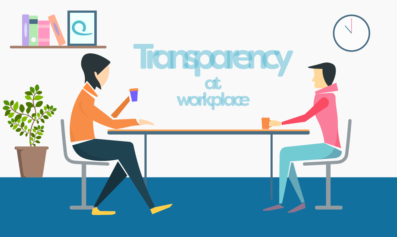 How transparency helps in building a better organization
