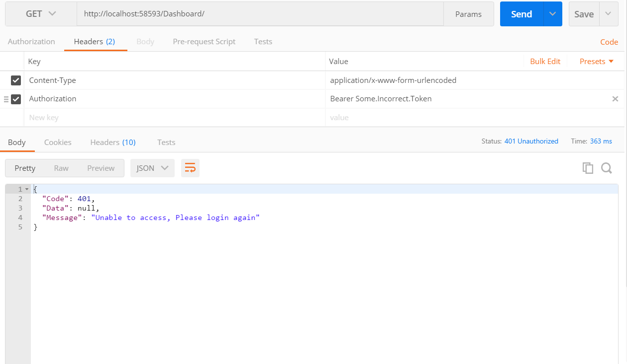 JSON Web Token (JWT) with Web API | Humble Bits
