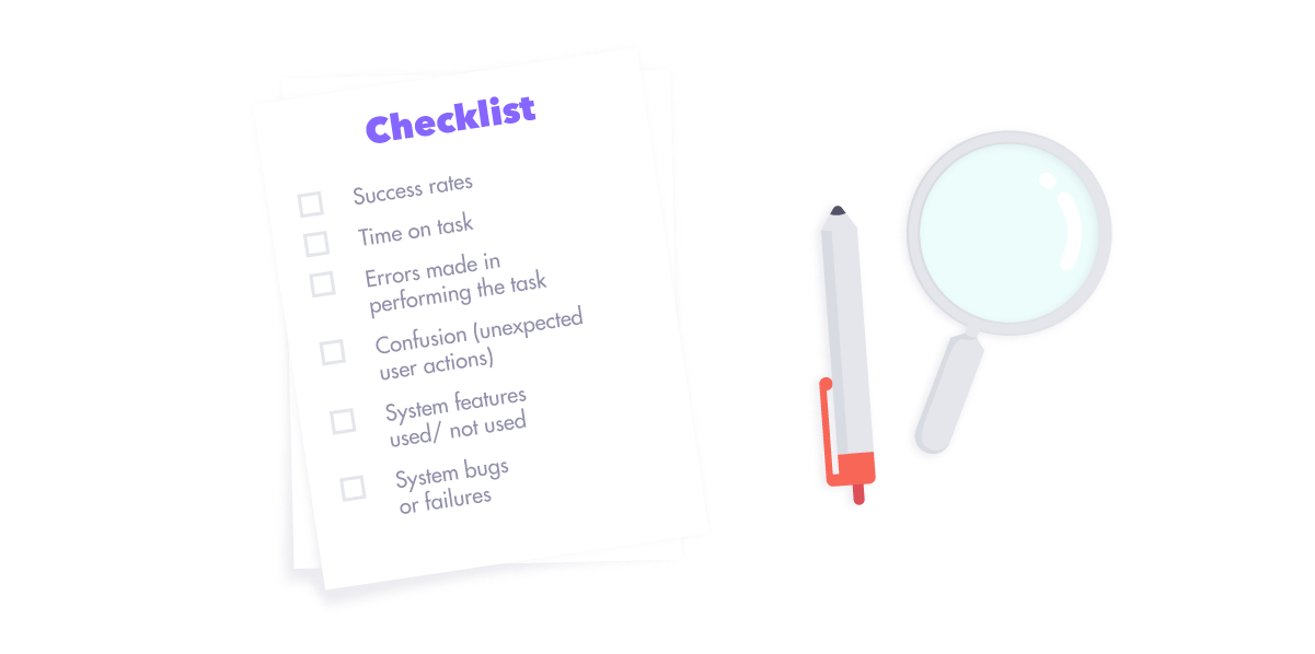 Checklist for Usability Testing