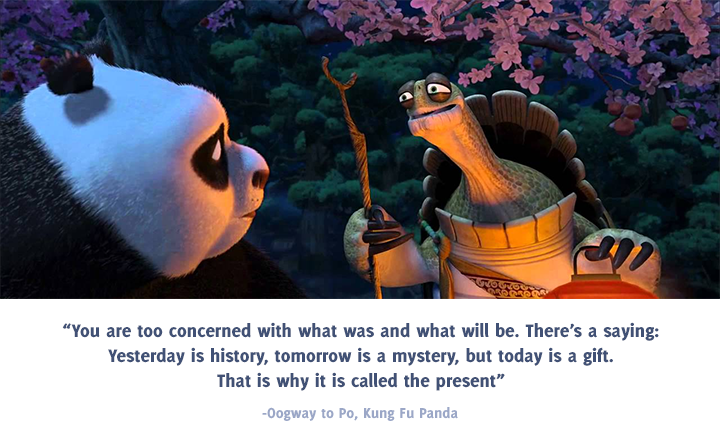 Oogway and Po