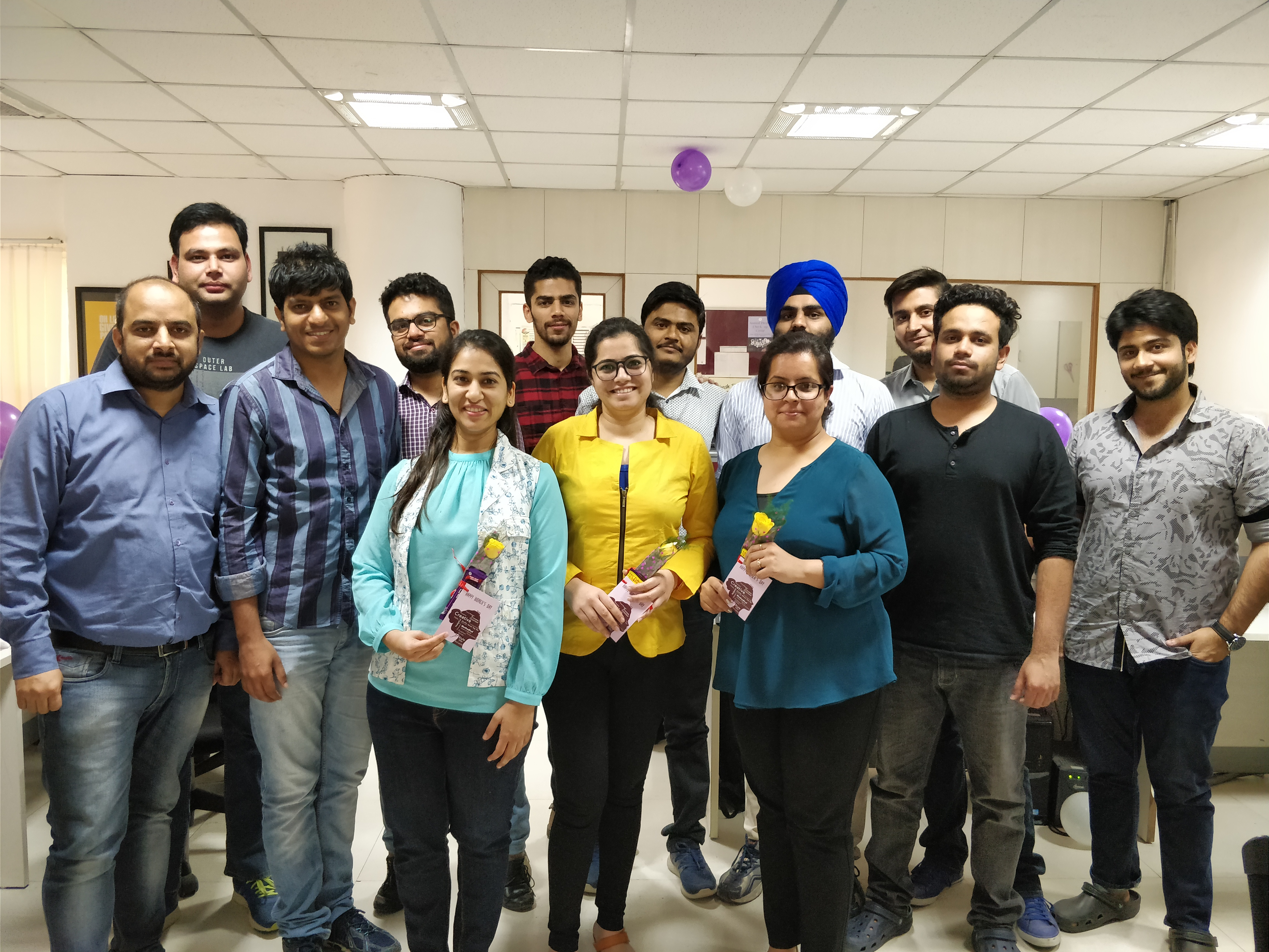 mpulse team on women's day