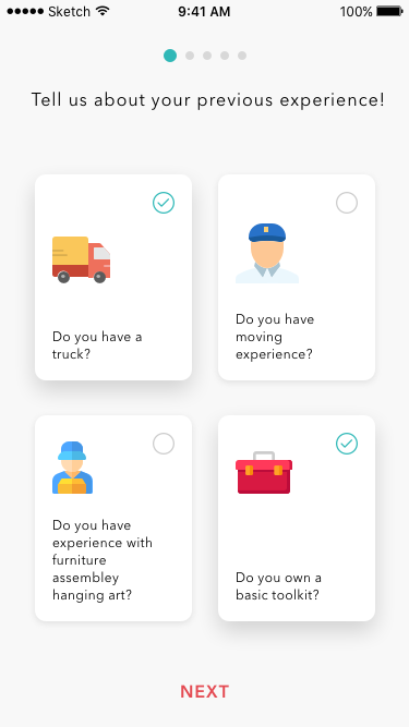sentence case in UI design