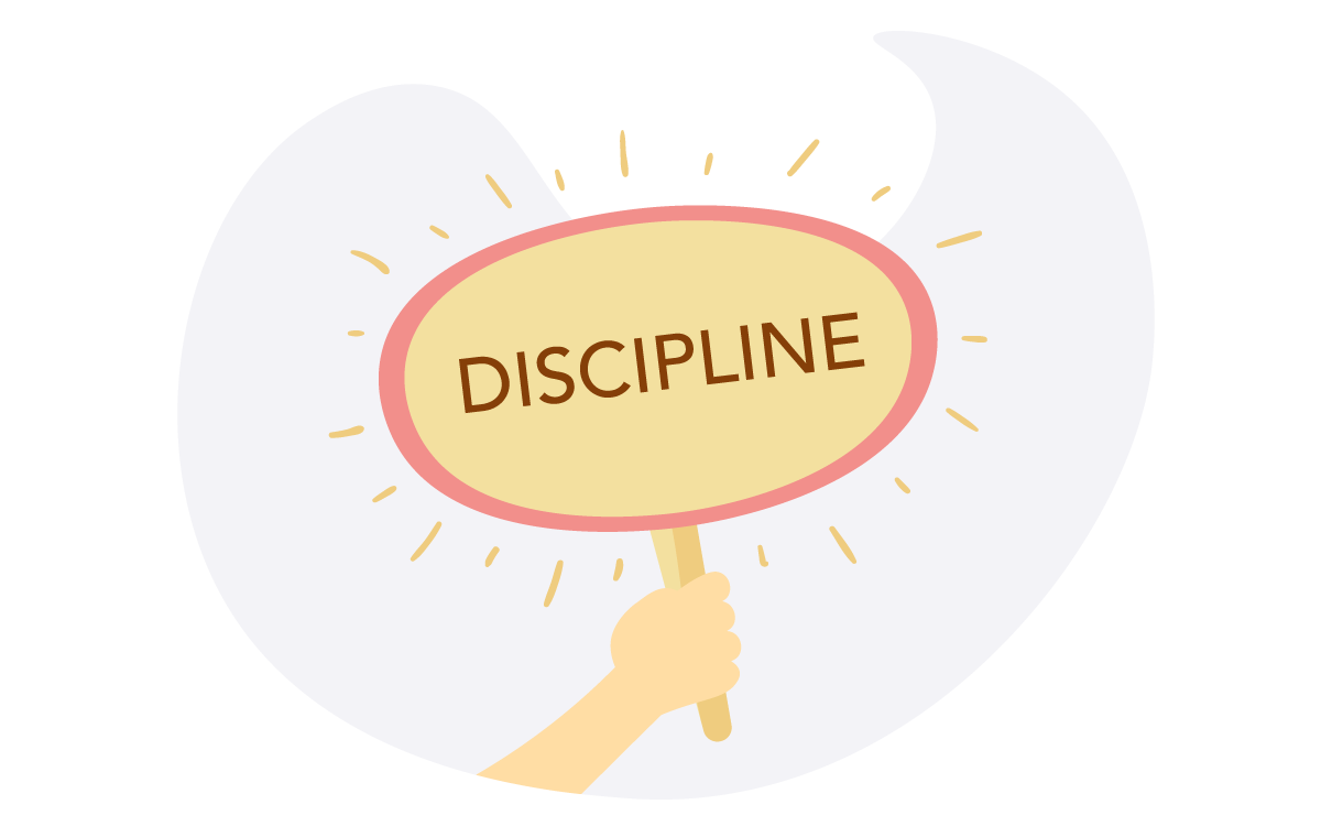 Discipline at work is most essential