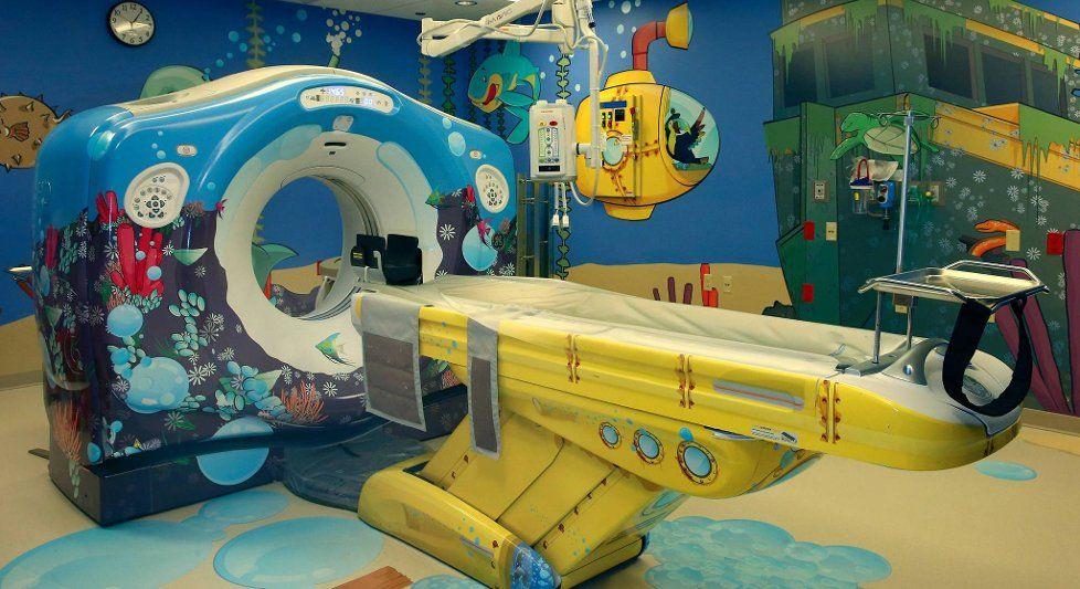 Design thinking in MRI machine for Children