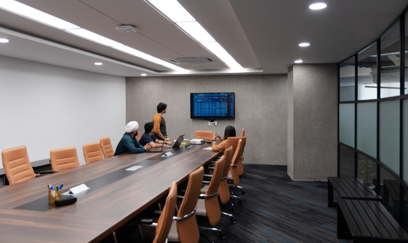 meeting rooms at Quovantis
